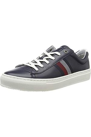Tommy Hilfiger Men's Clean Premium Corporate Cupsole Low-Top Sneakers, (Midnight 403)