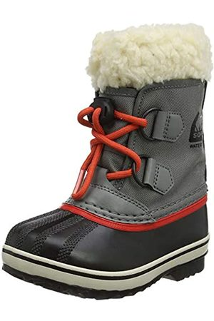 sorel Unisex Kids Yoot Pac Nylon Snow Boots, Grey (Quarry, Sail )