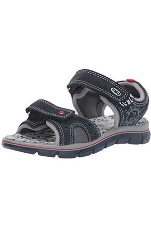 Primigi Boys' PTV 33968 Ankle Strap Sandals, (Navy/Grigio Sc 3396822)