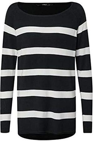 Only Women's Onlselena L/s Stripe Pullover Cc KNT Sweater