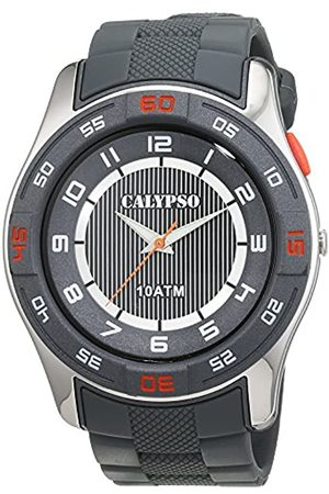 Calypso Men's Quartz Watch with Dial Analogue Display and Plastic Strap K6062/1