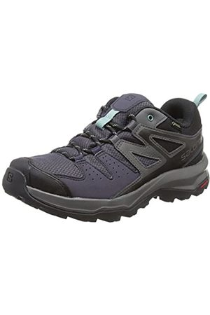 SALOMON Women's Hiking Shoes X Radiant GTX W, (Graphite/Magnet/Trellis)