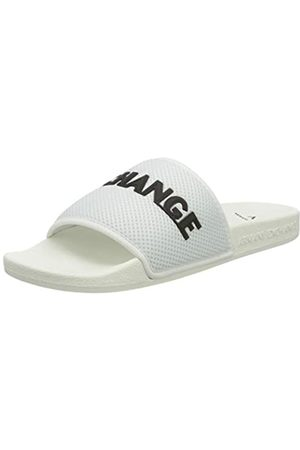 Armani Exchange Men's Mesh Pool Slides Flip Flops