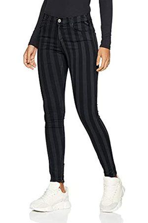 Replay Women's Stella Ankle Zip Skinny Jeans