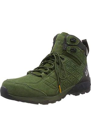 Jack Wolfskin Men's Cascade Hike Lt Texapore Mid M High Rise Shoes, (Dark Moss/Phantom 5102)