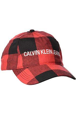 Calvin Klein Men's J Buffalo Check Cap Baseball