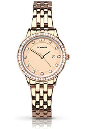 Sekonda Womens Analogue Classic Quartz Watch with Stainless Steel Strap 2391.27