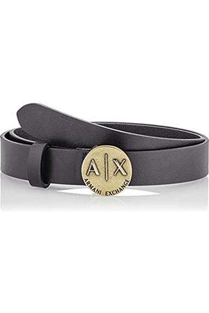 Armani Women's Plaque Belt, (Nero- 00020)