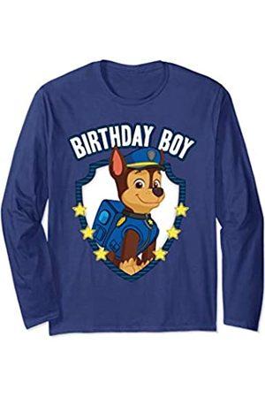 Nickelodeon Paw Patrol Birthday Boy Apparel PP1070 Long Sleeve T-Shirt