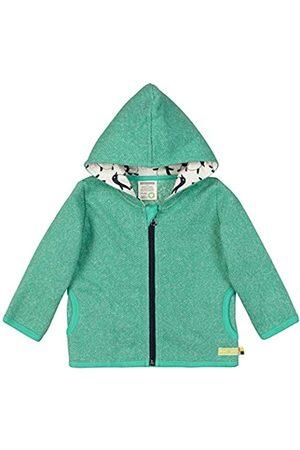 loud + proud Boy's Jacke in Melange Strick Aus Bio Baumwolle, GOTS Zertifiziert Sweat Jacket