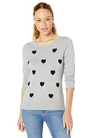 Amazon Lightweight Crewneck Sweater Heart