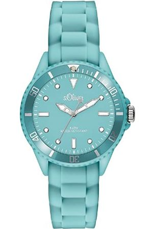s.Oliver Women's Analogue Quartz Watch with Silicone Strap - SO-2750-PQ