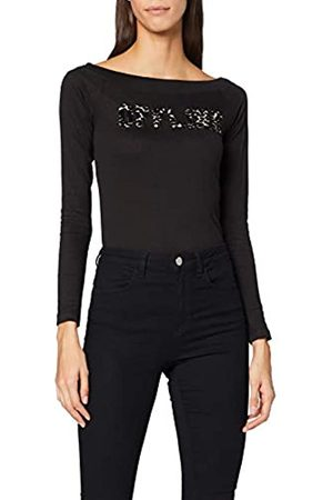 INSIDE Women's 84SPLN34 Longsleeve T-Shirt, (Negro 1)