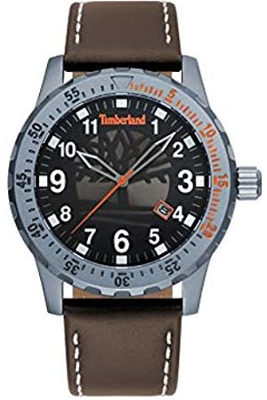 Timberland Mens Analogue Classic Quartz Watch with Leather Strap TBL.15473JLU/02