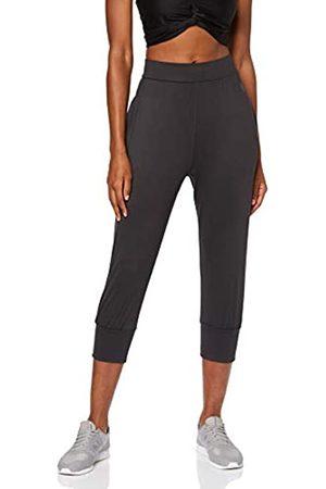 AURIQUE Amazon Brand - Women's Cropped Joggers, 10