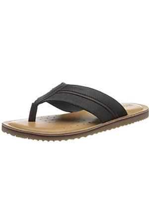 Geox Men's U Artie A Flip Flops, (Navy C4002)