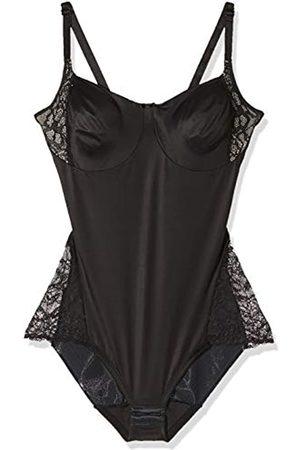 Naomi & Nicole Women's Body Gainant Noir-A Little Lace A Lot of Shape Underwear