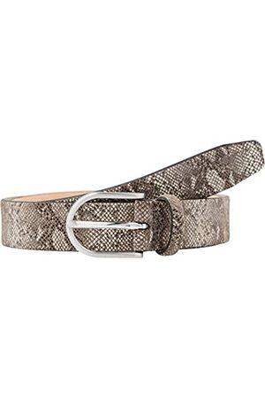 BRAX Women's Ledergürtel mit Schlangenprint Belt