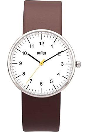 von Braun Unisex Quartz Watch with BN0021 W Hbrg Analogue Quartz Leather 66552