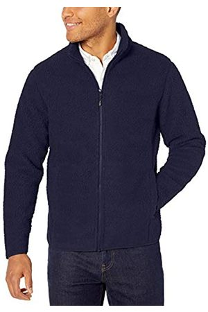 Amazon High Pile Fleece Full-zip Jacket Navy
