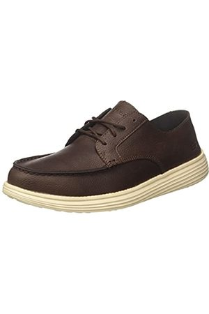 Skechers Men's 65504 Moccasins, (Chocolate)