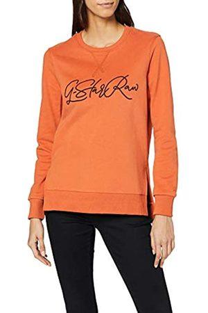 G-STAR RAW Women's Graphic 22 Boyfriend Slit Round Neck Sweatshirt