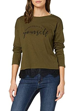 Springfield Long Sleeve With Postional Text T-Shirt Women's X-Large (Manufacturer's size:XL)