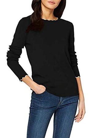 TOM TAILOR Women's Pullover Mit Bogenkante Sweater