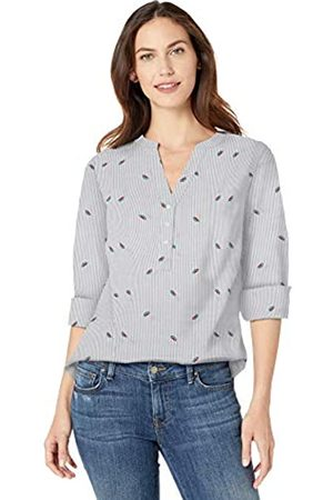 Amazon Long-sleeve Cotton Popover Shirt Button