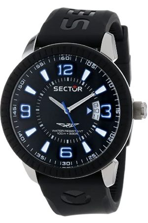 Sector Men's Quartz Watch with Dial Analogue Display and PU Strap R3251119001