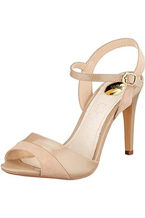 Buffalo Women's Aida Ankle Strap Sandals, (Taupe 000), 41 EU