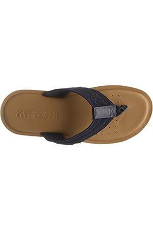 Geox Men's U Artie A Flip Flops, (Navy)