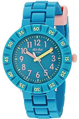 Flik Flak Girls Analogue Quartz Watch with Rubber Strap FCSP088