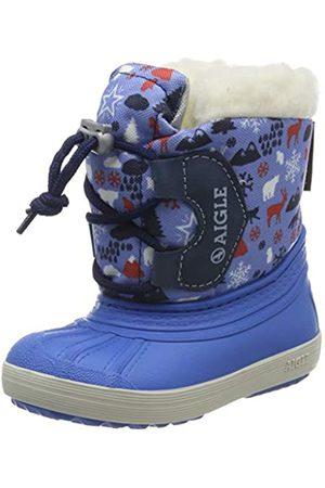 Aigle Unisex Kid's Nervei Junior Snow Boots, (Snowy 001)