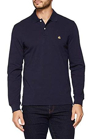Brooks Brothers Men's Supima Polo Slim Manica Lunga Shirt