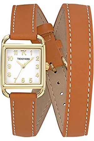 Trendy Kiss Trendy Kiss Womens Analogue Quartz Watch with Leather Strap TG10115-01
