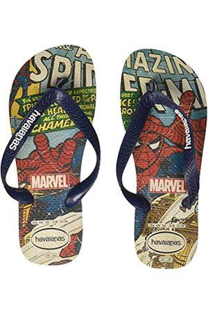 Havaianas Unisex's Top Spiderman Flip Flops, ( /Navy)