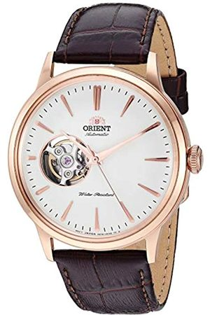 Orient Mens Analogue Automatic Watch with Leather Strap RA-AG0003S10B
