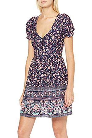 Springfield Fq. Apuesta Botones Dress Women's 36 (Manufacturer's size:36)