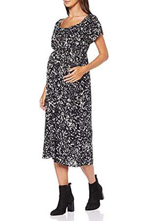 Dorothy Perkins Women's Short Sleeve Gypsy MIDI Dress Abstract Print