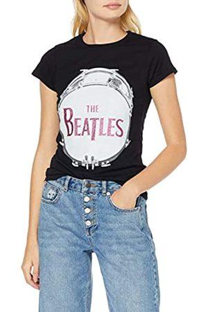 The Beatles Ladies Fashion Tee Sparkle Gel Apple