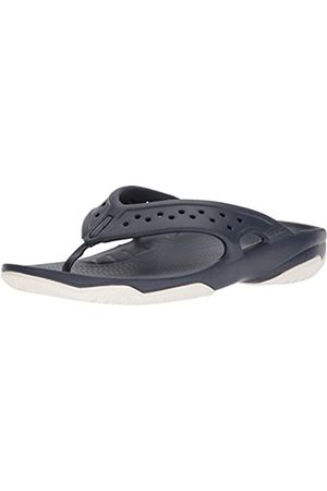 Crocs Men's Swiftwater Deck Flip Flop, (Navy/ )