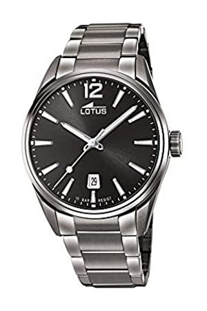 Lotus Mens Analogue Quartz Watch with Stainless Steel Strap 18684/1