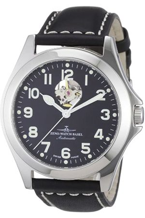Zeno Men's Automatic Watch Ghandi 8112U-a1 with Leather Strap