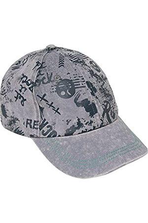 3 Pommes Boy's Rebel Touch 2 Cap, Gris (Gris (Gris Moyen)