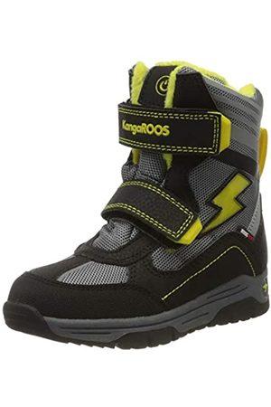 KangaROOS Unisex Kids' Snow Flash Boys SL Boots, (Jet /Sun 5028)