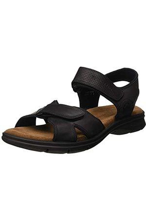 Panama Jack Men's Sanders Basics Open Toe Sandals, (Negro C2)