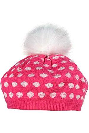 maximo Girl's Basque Mit Lurex Punkten Und Kunstfellpomon Hat