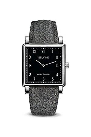 Selvine Womens Analogue Quartz Watch with Stainless Steel Strap SCHE12