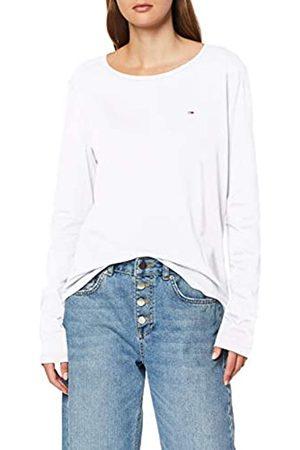 Tommy Jeans Tommy Hilfiger Women's TJW Soft Jersey Longsleeve Sports Knitwear